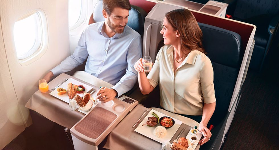 El mejor catering clase business. (Foto: Turkish Airlines)