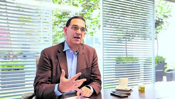 Alfonso Bustamante, presidente de ComexPerú.
