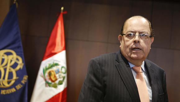 Empresas Aceleran sus proyectos de inversión, dijo Velarde.