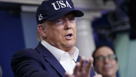 El presidente de Estados Unidos, Donald Trump. (Foto: Bloomberg)