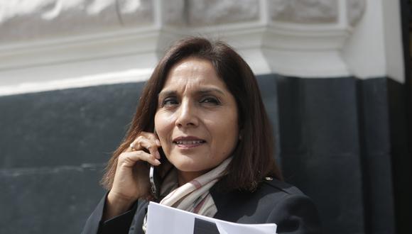 Patricia Juárez renunció en noviembre del 2018 a Solidaridad Nacional (Foto: Piko Tamashiro/GEC).