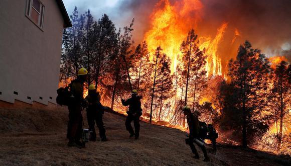 Incendio en California. (Foto: Reuters).