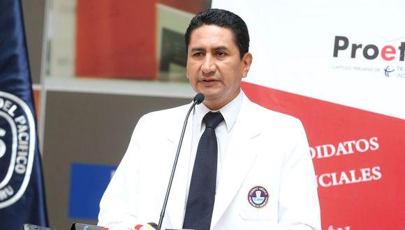 Se defiende. Gobernador regional de Junín afirma que por ahora sus proyectos están en etapa de licitación. (Foto: Andina)
