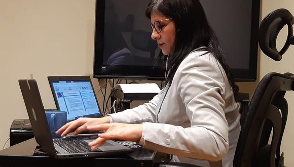 Silvana Carrión destacó el trabajo que viene realizando la justicia peruana en el caso Lava Jato. (Foto: Difusión)