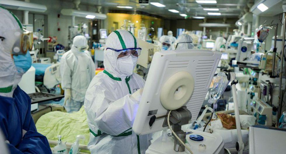 España registra 13.716 casos de coronavirus con 558 fallecidos, según datos divulgados por el Ministerio de Sanidad, lo que supone un incremento del 18 % diario de los nuevos positivos. (AFP).