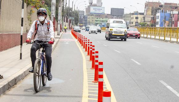 Especialistas señalan que debe haber un rediseño en algunas de las ciclovías. (Foto: GEC)