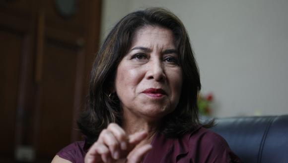 """La Comisión de Ética aprobó iniciar indagaciones contra la congresista Martha Chávez por """"expresiones racistas"""". (Foto: GEC)"""