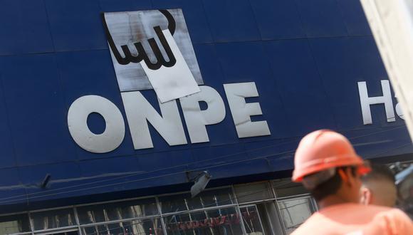 La ONPE revisará la información financiera que presenten los candidatos en estas elecciones