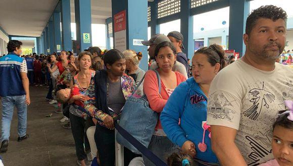 Ingreso de venezolanos se redujo en al menos 90% desde que el 15 de junio inició la exigencia de presentar pasaporte con visa o visa humanitaria. (Foto: GEC)