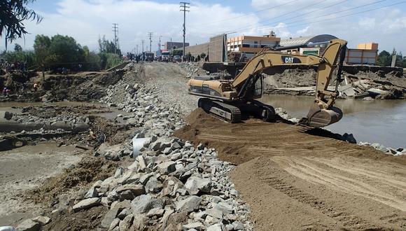 El contralor acusa un lento avance en la ejecución de las obras de la Reconstrucción con Cambios. (Foto: GEC)