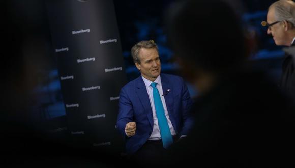 Brian Moynihan, CEO de Bank of America. (Bloomberg)