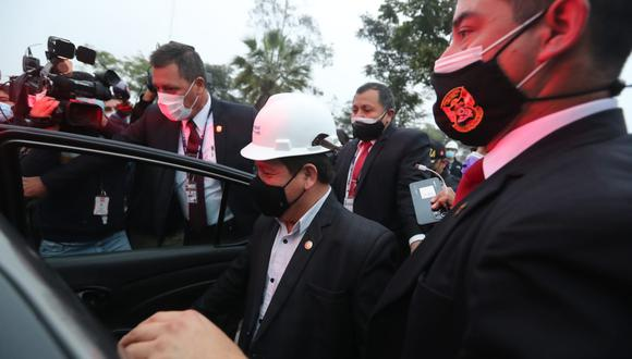 Bellido fue electo congresista por Perú Libre y ocupa el cargo de presidente del Consejo de Ministros. (Foto : Lino Chipana Obregón/@photo.gec)