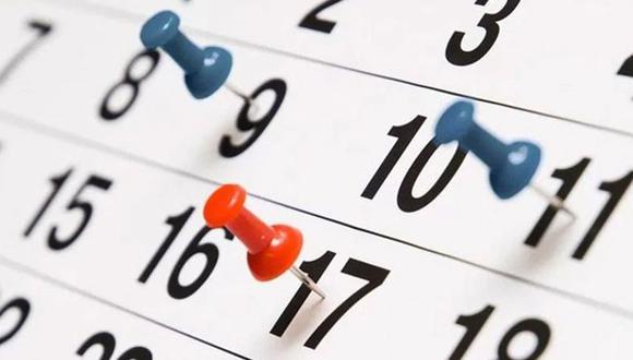 Días no laborables. (Foto: Pixabay)