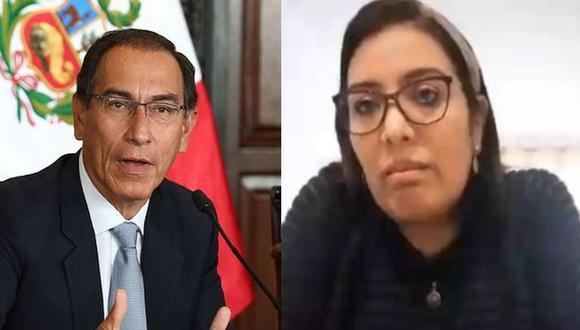 Según las indagaciones, Karem Roca, en su condición de secretaria del gobernador regional de Moquegua, habría contratado a su empresa, de donde formaba parte su padre. (Foto: GEC/Congreso)