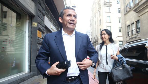 Ollanta Humala y Nadine Heredia. (Foto: USI)