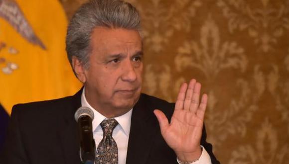 El mandatario ecuatoriano prometió ayudas sociales para los sectores más pobres del país y los pequeños empresarios. (Foto: AFP)