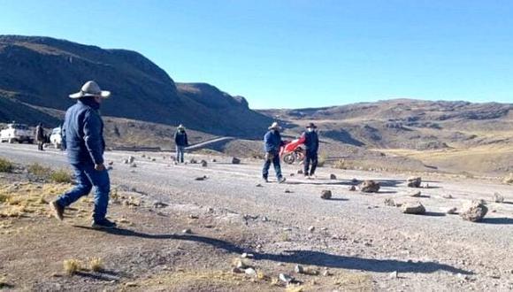 Corredor Minero del Sur. (Foto:  Frente de Defensa de Chumbivilcas)