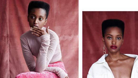 """Con el calendario de setiembre, el más importante, """"nos poníamos a hacer deporte, a acostarnos temprano para estar en forma para los castings"""", recuerda Christelle Yambayisa. (Foto: models.com)"""