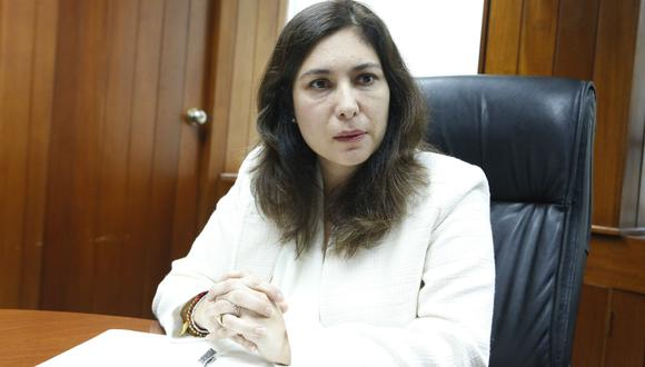 Ángela Grossheim, actual viceministra de Energía. (Foto: USI)