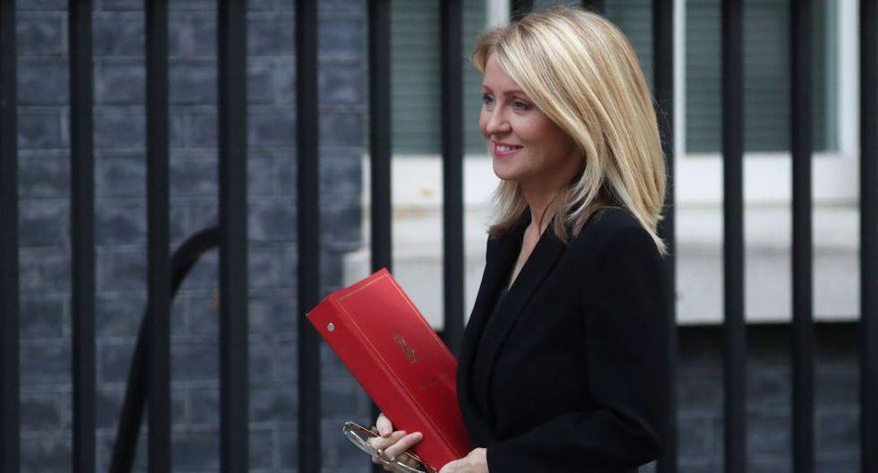 """Esther McVey: Otra de las dimisionarias del gabinete de May, que renunció a su puesto de ministra de Trabajo y Pensiones en noviembre del año pasado por desacuerdos en la gestión del """"Brexit"""". (Reuters)"""
