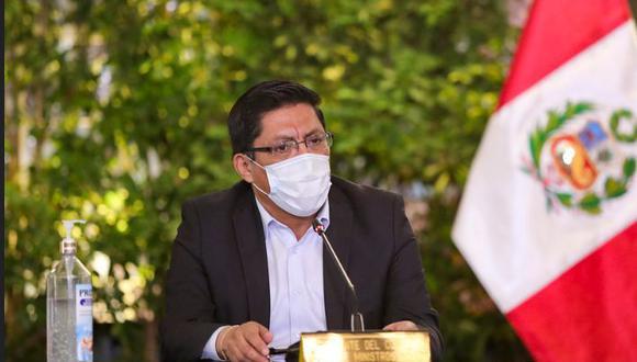 """Zeballos había pedido al Congreso no distorsionar las """"potestades de control y fiscalización"""" al Poder Ejecutivo."""