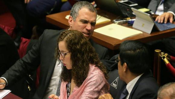 Del Solar y Zeballos fueron citados nuevamente al Congreso para exponer propuesta del Ejecutivo para la reforma política. (Foto: GEC)