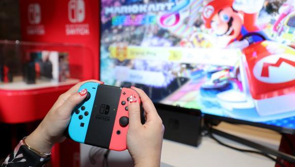 Nintendo vendió 32,27 millones de unidades de Switch hasta el 31 de diciembre del año pasado a nivel mundial. (Foto: AFP)