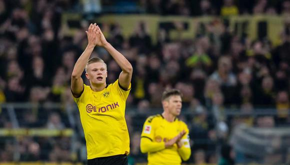 El noruego Erling Braut Håland llegó al Dortmund (Alemania - Bundesliga) procedente del Salzburgo a cambio de 20 millones de euros. (Foto: Borussia Dortmund)