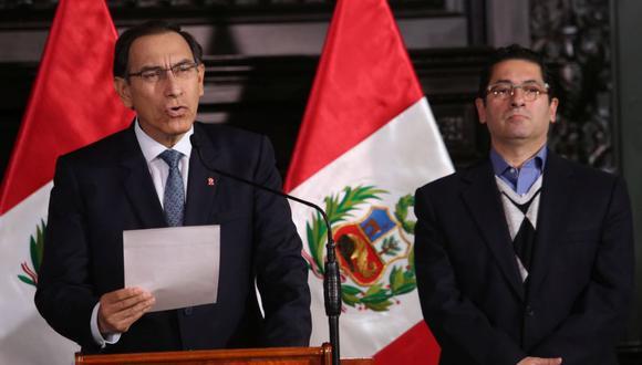 Salvador Heresi fue ministro de Justicia y Derechos humanos durante los primeros meses del Gobierno de Martín Vizcarra. (Foto: GEC)