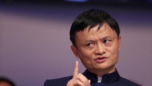 Jack Ma, multimillonario y presidente de Alibaba Group Holding Ltd. (Foto: Bloomberg).