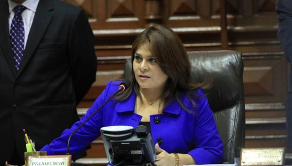 FOTO 7 | Esther Capuñay. Por su parte, la ex congresista Esther Capuñay postulará con Unión por el Perú. (Foto: Andina)