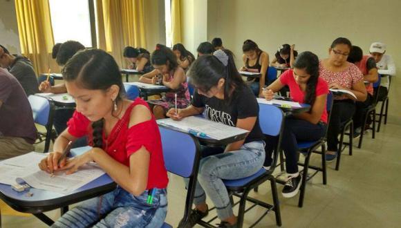 El examen nacional de preselección será en diciembre de este año. (Foto: Facebook / Pronabec)