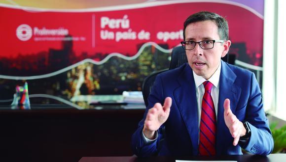 Director ejecutivo de ProInversión, Rafael Ugaz, señala cronograma de proyectos a adjudicar para este año