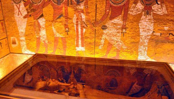 Tutankamón. (Foto: EFE).