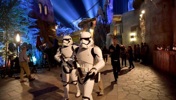 """Stormtroopers serán vistos en """"Star Wars: Galaxy's Edge"""" (Foto: AFP)"""