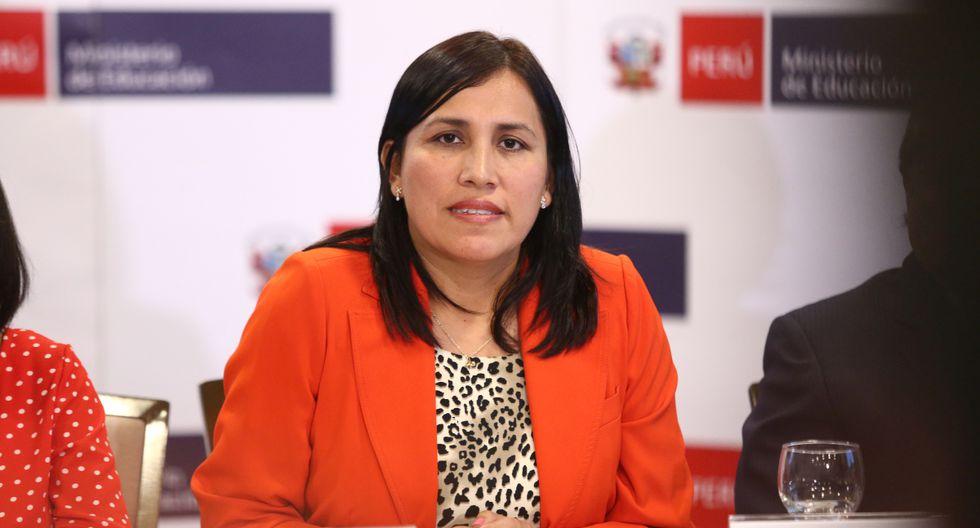 Ministra Flor Pablo espero que congresistas electos prioricen el interés de los ciudadanos por encima de las creencias y religiones. (Foto: GEC)