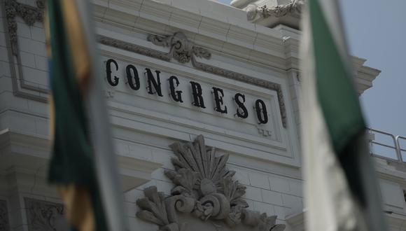 Congreso de la República. (Foto: GEC)