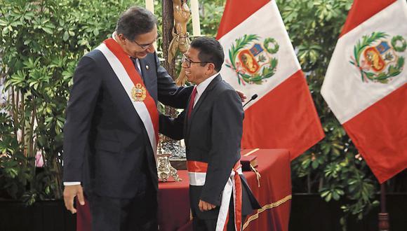 Titular del MTC, Edmer Trujillo presentó su renuncia, junto a otros tres ministros. (Foto: GEC)