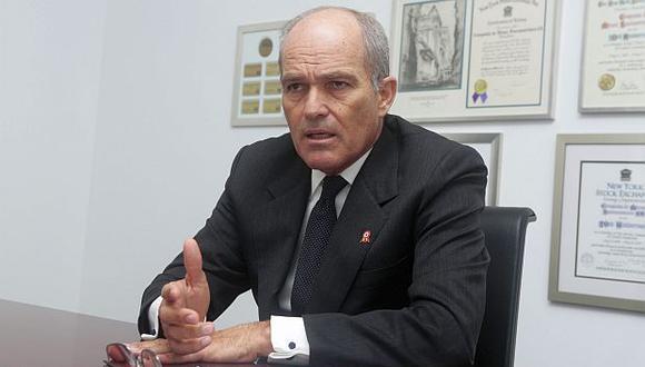 """Roque Benavides dijo esperar que el Gobierno tome """"medidas de tal manera que se puede reactivar la economía en el Perú"""". (Foto: GEC)"""