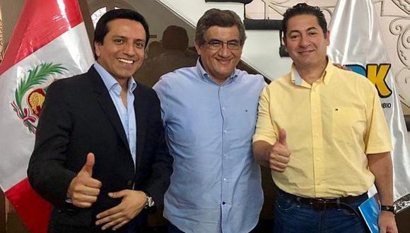 En el evento también se nombró al congresista Juan Sheput como presidente de la Comisión Política. (Foto: Twitter)
