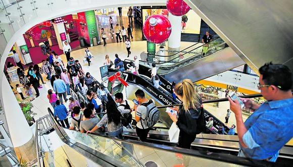 Los centros comerciales no están considerados en las dos primeras fases de la reactivación económica. (Foto: Manuel Melgar   GEC)