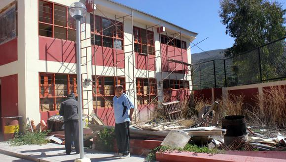 Colegio Mateo Pumacahua, en Tacna. (Foto: USI)