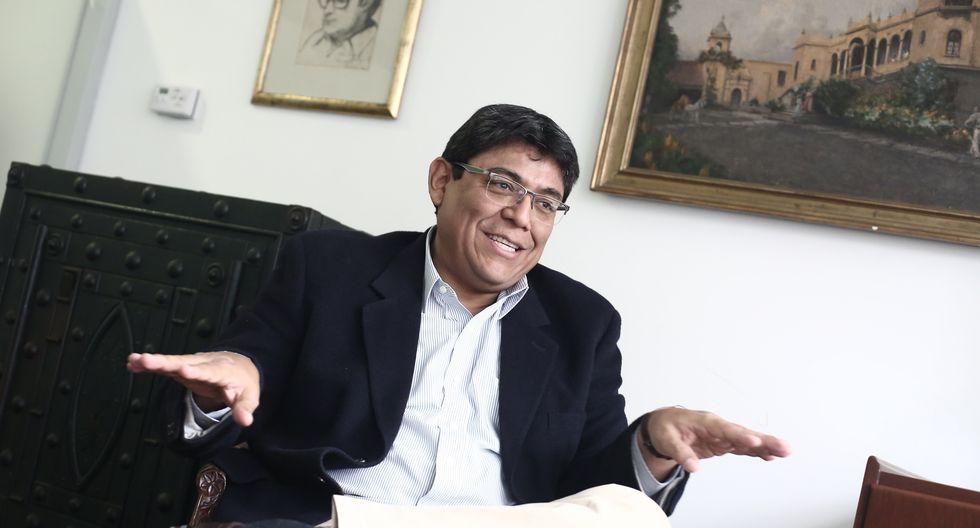 Elmer Cuba, economista. (Foto: GEC)