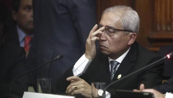 Pedro Chávarry ofreció disculpas a la ciudadanía por decir que las manifestaciones en su contra fueron pagadas . (Foto: GEC)
