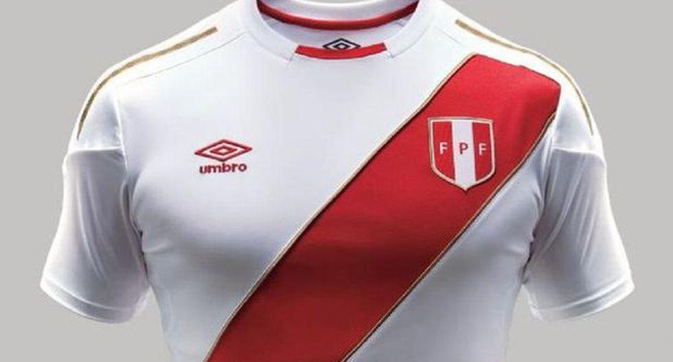 Nueva camiseta de la selección para el mundial Rusia 2018.