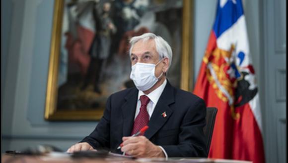 Sebastián Piñera reconoció la tardanza en la entrega de la ayuda oficial para los afectados de la pandemia. (Foto referencial, (Prensa Presidencia de Chile, @presidencia_cl).