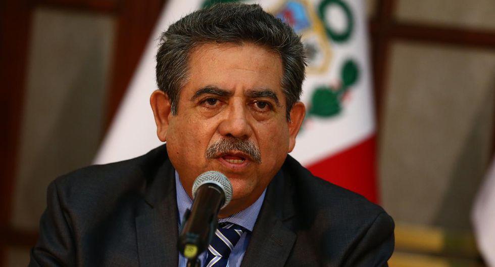Manuel Merino de Lama es el candidato para presidir la Mesa Directiva del Congreso de la lista integrada por Acción Popular, APP, Somos Perú y Podemos Perú. (Foto: GEC)