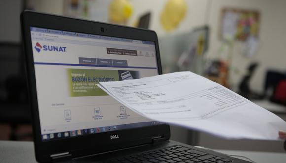 La Sunat busca promocionar entre las mypes el uso de la facturación desde sus propios sistemas electrónicos, según una especialista. (Foto: GEC)