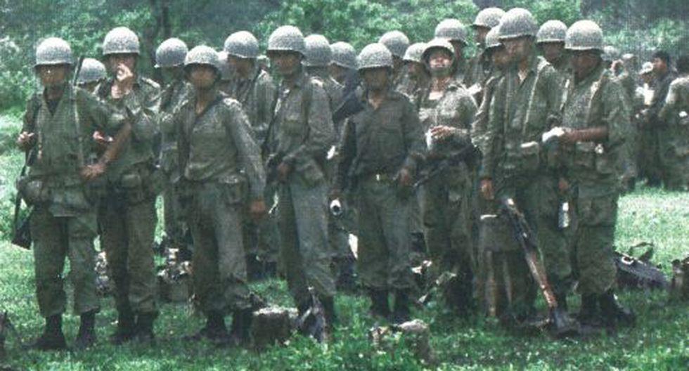 Ayer en Tumbes continuaron los desplazamientos de miembros del Ejército Peruano que partían a la zona de conflicto.