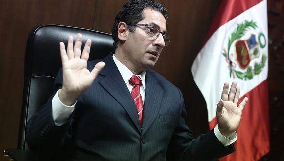 El congresista Salvador Heresi aseguró que están buscando, dentro del partido, deslindar del gobierno porque no son parte del Ejecutivo. (Foto: GEC)